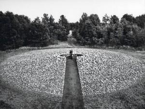 Egozentrischer Steinkreis, bei llhorn, 1977/78
